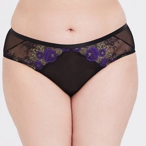 🎉 2/$25 Panties!! Torrid LACE CAGED HIPSTER